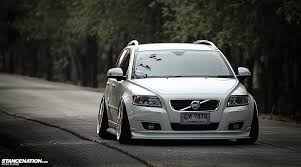 lexus is300 wagon slammed thai style momm u0027s slammed volvo v50 stancenation form