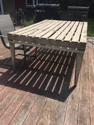 Patio Made Out Of Pallets by Coffee Table Handmade Pallet Patio Coffee Table Diy Outdoor