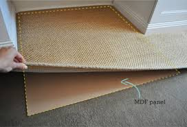 Stop Area Rug From Sliding On Carpet The Painted Hive How To Keep A Rug In Place On Carpet