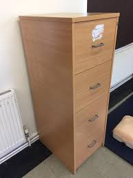 Wood 4 Drawer Filing Cabinet by Wooden 4 Drawer Filing Cabinet In Abertillery Blaenau Gwent