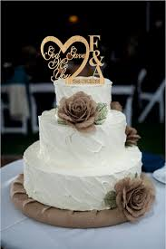 wedding cake jakarta god gave me you caketopper rustic wedding cake topper