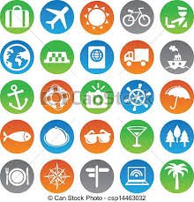 travel symbols images Vector travel icons vacation signs and symbols vectors search jpg