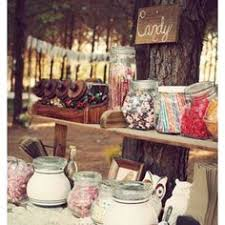 Vintage Candy Buffet Ideas by Upcycling Using Old Drawers As Serving Bins For A Candy Buffet