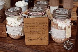 hot cocoa wedding favors diy winter wedding favors