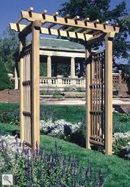 Diy Trellis Arbor Sacramento Arbor By Trellis Structures