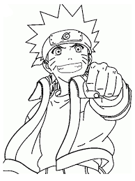 naruto coloring pages archives with naruto nine tailed fox