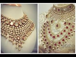 indian wedding necklace sets images Top 5 latest indian wedding jewellery designs 2017 2018 jpg