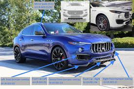 maserati truck on 24s larte design launches carbon kit for maserati levante