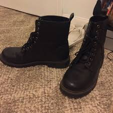 s boots combat 78 h m shoes docs black combat boots from s closet on