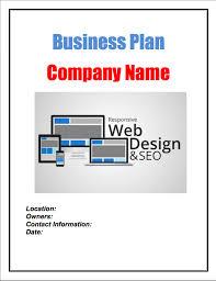 website design and development business plan sample pages black
