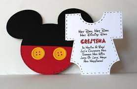 mickey mouse baby shower invitations mickey mouse baby shower invitations cloveranddot