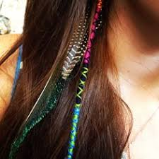 hair wraps diy pink green and blue string hair wrap highlights