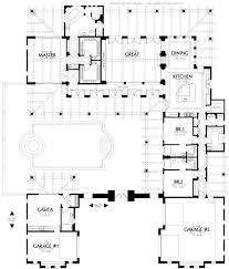 u shaped ranch house plans h shaped ranch house plans h shaped house floor plans original