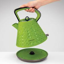 Green Kettles And Toasters Morphy Richards Prism Kettle Green By Palmers Department Store