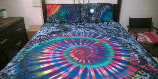 Tie Dye Bed Sets Tie Dye Sheets Something To Crave For Home And Textiles