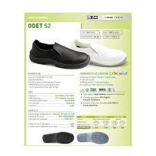 chaussure de cuisine noir chaussures de cuisine odet noir s24
