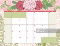 desk pad calendar 2017 2017 botanical floral desk pad calendar template vector art getty