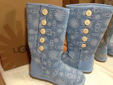 Light Blue Uggs Ugg Australia Denim Boots For Women Ebay