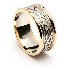 celtic wedding sets wedding rings white gold celtic knot wedding bands scottish