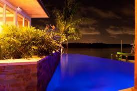 infinity edge modern zen pool lucas lagoons