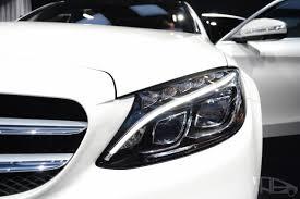 mercedes headlights 2015 mercedes benz c class at 2014 naias headlight indian autos blog