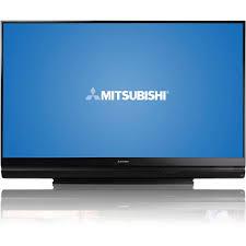 l for mitsubishi 73 inch tv cinema wd 73640 projection tv walmart com
