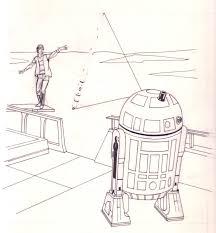 star wars return of the jedi dot to dot fun preliminary drawing