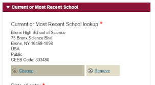 a guide to the education section of the common app