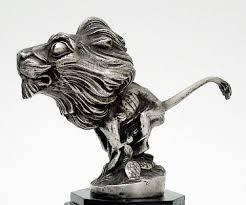 1923 peugeot car mascot ornament