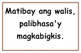 22 printable display boards mga salawikain deped lp u0027s