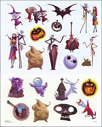 amazon com nightmare before tattoos 75 temporary