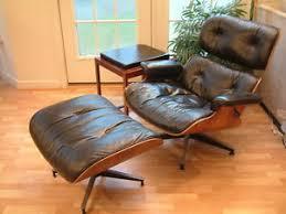 Lounge Ottoman Mid Century Modern Herman Miller Eames Lounge Chair Ottoman Erik