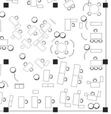 open plan office layout definition office landscape wikipedia