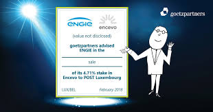 gdf suez si e social goetzpartners advised engie on the sale of its 4 71 stake in encevo
