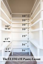 Wood Pantry Shelving by Pantry Shelving Built In Organization Ideas Shelf Distance Layout