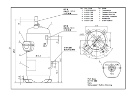 scroll compressor wiring diagram box scroll ac compressors