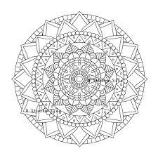 instant download pdf coloring flower studiosiva zibbet