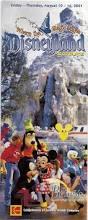 Map Of Downtown Disney Disney Experiences 2001