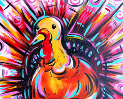 dowdell library foundation fundraiser thanksgiving painting