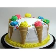 rich vanilla cream cone cake 1 kg