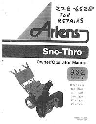 ariens manuals images reverse search