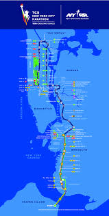 Brooklyn New York Map by Tcs New York City Marathon New York Ny Nov 05 2017 Tcs New York