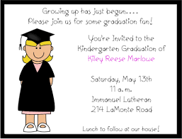 kindergarten graduation cards girl preschoolkindergarten graduation invitations