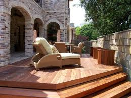 Wooden Decks And Patios Wood Patio Decking Buildipedia