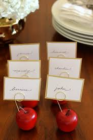 fabric paper glue try this mini apple thanksgiving placecard holders