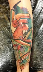 colorful freestyle tattoos voller kontrast inked cartel