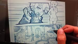 drawing manga using stick figures youtube