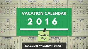usa calendar dates for 2016 vacation planning vacationcounts