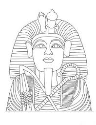 ancient egypt coloring page king of egypt coloring page ancient pages of kidscoloringpage