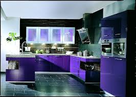 küche lila u form küche in hochglanz violett mit arbeitsplatte in steinoptik
